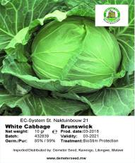 Cabbage Brunswick front